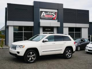Used 2012 Jeep Grand Cherokee Overland V8 5.7L 4 X 4 + INSPECTÉ + GPS + TOIT for sale in Sherbrooke, QC