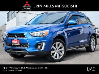 Used 2015 Mitsubishi RVR 2.4L GT 4WD|LEATHER|NAVIGATION|SUNROOF|ROCKFORD FOSGATE for sale in Mississauga, ON