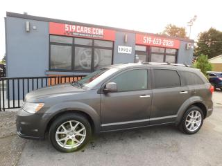 Used 2016 Dodge Journey R/T | Leather | Rear A/C | Heated Seats and Wheel for sale in St. Thomas, ON