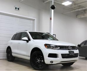 Used 2012 Volkswagen Touareg TDI HIGHLINE NAVIGATION PANORAMIC SUNROOF AWD for sale in North York, ON