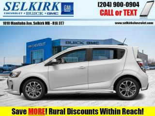 Used 2017 Chevrolet Sonic LT  - Bluetooth for sale in Selkirk, MB