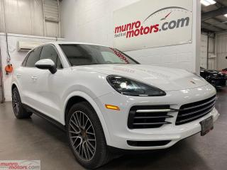 Used 2019 Porsche Cayenne AWD NAV Lane Assist CarPlay LED headlights tan int for sale in St. George, ON