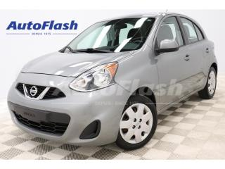 Used 2015 Nissan Micra SV *Bluetooth *Sieges-Chauffant/Heat-Seat for sale in St-Hubert, QC