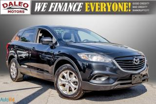 Used 2014 Mazda CX-9 GS / 7 PASS / MOONROOF / LEATHER / HEATED SEATS / for sale in Hamilton, ON