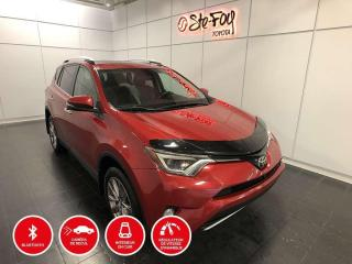 Used 2016 Toyota RAV4 LIMITED - TOIT OUVRANT for sale in Québec, QC