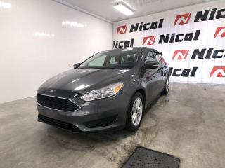 Used 2017 Ford Focus SE Nicol Occasion, le leader régional for sale in La Sarre, QC