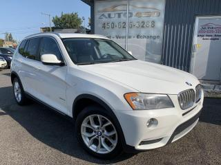 Used 2011 BMW X3 ***28i,XDRIVE,4X4,CUIR,TOIT PANO,MAGS*** for sale in Longueuil, QC