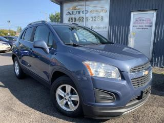 Used 2013 Chevrolet Trax ***LT,AUTOMATIQUE,TURBO,MAGS,A/C*** for sale in Longueuil, QC