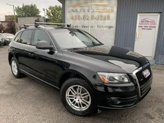 Used 2010 Audi Q5 ***QUATTRO,3.2L,CUIR,TOIT PANO,MAGS*** for sale in Longueuil, QC
