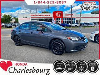 Used 2015 Honda Civic LX**AUTOMATIQUE**AVEC MAG** for sale in Charlesbourg, QC