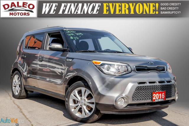 2016 Kia Soul EX+ / LOW KMS / BACK UP CAM / HEATED SEATS /