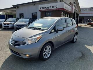 Used 2014 Nissan Versa Note SL 1.6 à hayon 5 portes BA for sale in Sherbrooke, QC