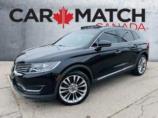 Used 2018 Lincoln MKX RESERVE / LOADED / NO ACCIDENTS for sale in Cambridge, ON