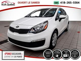 Used 2017 Kia Rio LX* GROUPE ELECTRIQUE* BLUETOOTH* for sale in Québec, QC