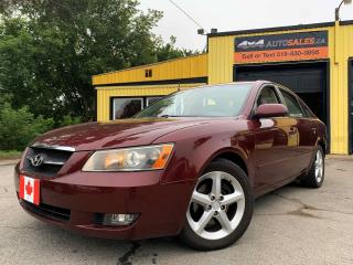 Used 2007 Hyundai Sonata GLS Prm for sale in Guelph, ON