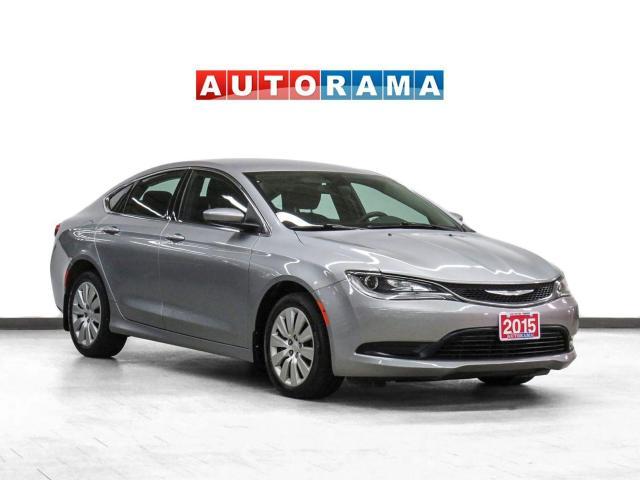 2015 Chrysler 200 LX Push Button Start Bluetooth