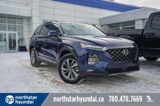 New 2020 Hyundai Santa Fe LUXURY: BLINDVIEW MONITOR/POWER LIFTGATE/BLUELINK/SUNROOF for sale in Edmonton, AB