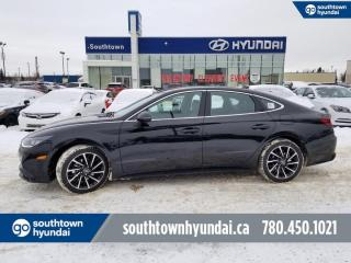 New 2021 Hyundai Sonata Sport - 1.6T Sport Trim Package, Pano Roof, Bluelink, 8 Way Driver Seat for sale in Edmonton, AB