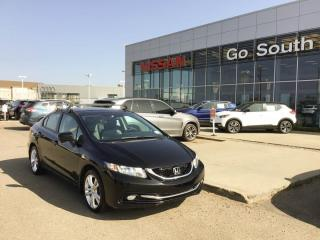 Used 2015 Honda Civic Sedan TOURING, AUTO, LEATHER, SEDAN for sale in Edmonton, AB