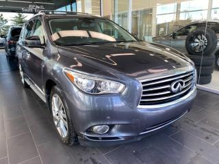Used 2014 Infiniti QX60 AWD, ACCIDENT FREE, SUNROOF, HEATED STEERING WHEEL, POWER HEATED/VENTED LEATHER SEATS for sale in Edmonton, AB