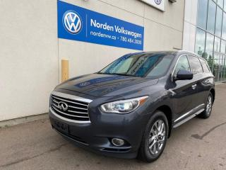 Used 2014 Infiniti QX60 LEATHER / SUNROOF / LOADED! for sale in Edmonton, AB
