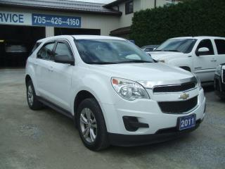 Used 2011 Chevrolet Equinox LS, FWD for sale in Beaverton, ON