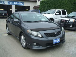 Used 2009 Toyota Corolla Sport for sale in Beaverton, ON