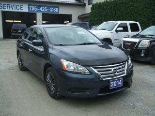 Used 2014 Nissan Sentra S for sale in Beaverton, ON