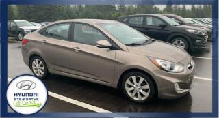 Used 2013 Hyundai Accent BAS KM, Berline 4 portes boîte auto GLS for sale in Val-David, QC