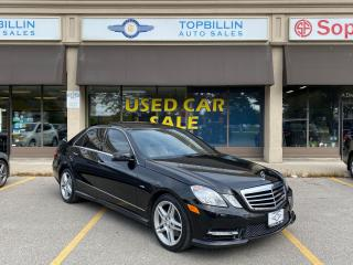 Used 2012 Mercedes-Benz E-Class E 350 4Matic, Navi, Blind Spot, AMG for sale in Vaughan, ON