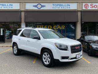 Used 2016 GMC Acadia SLE AWD, 1 Owner, Backup Cam for sale in Vaughan, ON