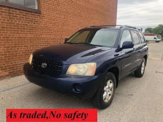 Used 2003 Toyota Highlander LEATHER for sale in Oakville, ON