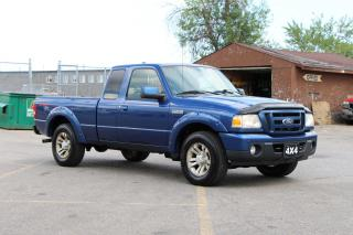 Used 2011 Ford Ranger Sport 4X4 for sale in Brampton, ON