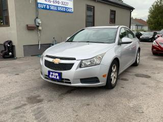 Used 2012 Chevrolet Cruze LT Turbo+ w/1SB for sale in Scarborough, ON