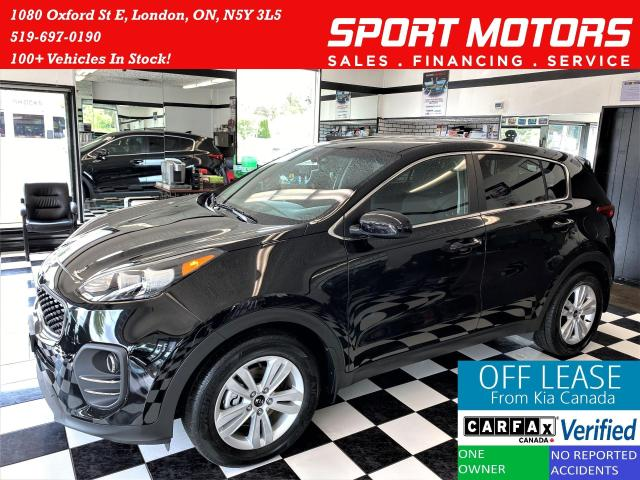 2017 Kia Sportage LX+Camera+Heated Seats+A/C+Accident Free