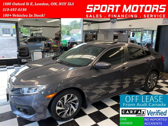 2017 Honda Civic EX+Adaptive Cruise+New Brakes+ROOF+ACCIDENT FREE