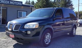 Used 2005 Pontiac Montana w/1SB for sale in Black Creek, BC