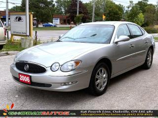 Used 2006 Buick Allure CXL|LOW KM|NO ACCIDENT|REMOTE STARTER|CERTIFIED for sale in Oakville, ON