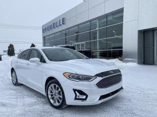 Used 2019 Ford Fusion Energi Titanium GPS Toit ouvrant for sale in St-Eustache, QC