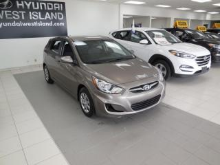 Used 2014 Hyundai Accent GL MAN A/C SIÈGES CHAUFFANTS BT CRUISE for sale in Dorval, QC