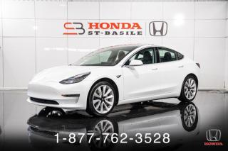 Used 2018 Tesla Model 3 DUAL MOTORS + CUIR + TOIT + WOW! for sale in St-Basile-le-Grand, QC
