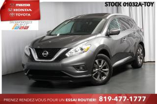 Used 2017 Nissan Murano SL| INTÉGRALE| TOIT PANO| CUIR for sale in Drummondville, QC