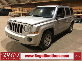 Used 2010 Jeep Patriot Sport 4D Utility FWD for sale in Calgary, AB