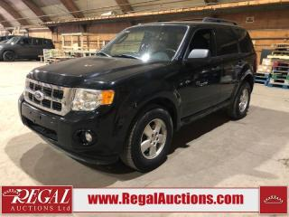 Used 2012 Ford Escape 4D Utility FWD for sale in Calgary, AB