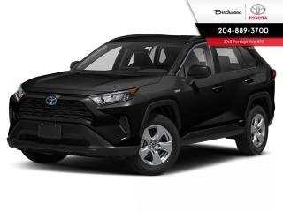 New 2020 Toyota RAV4 LE STANDARD PACKAGE for sale in Winnipeg, MB
