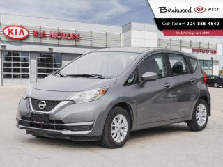 Used 2018 Nissan Versa Note SV *Accident Free/Locally Owned/Low Kilometers* for sale in Winnipeg, MB