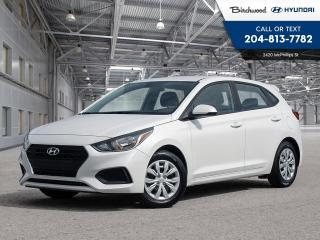 New 2020 Hyundai Accent Essential w/ Comfort Package Demo Model for sale in Winnipeg, MB