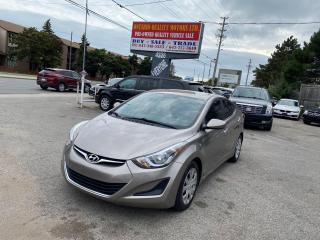 Used 2014 Hyundai Elantra GL for sale in Toronto, ON