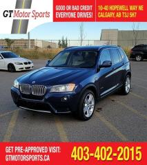 Used 2013 BMW X3 28i | $0 DOWN - EVERYONE APPROVED! for sale in Calgary, AB
