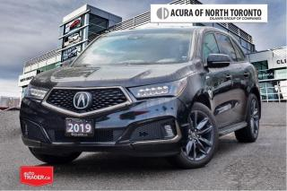 Used 2019 Acura MDX A-Spec No Accident| Premium Running Board| 7Yrs Wa for sale in Thornhill, ON
